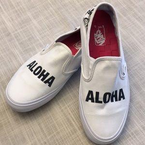 Vans Aloha surf shoes